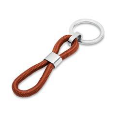Schlüsselanhänger mit Gravurmöglichkeit braun