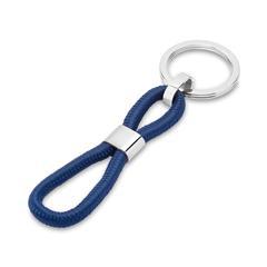 Schlüsselanhänger mit Gravurmöglichkeit blau