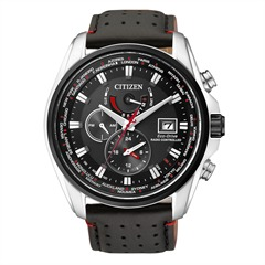 Citizen Elegant Racing Funk Uhr schwarz AT9036-08E