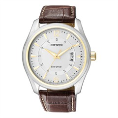 Citizen Sports Herrenuhr Leder braun AW1034-08A
