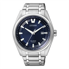 Citizen Super Titanium Herrenuhr silber AW1240-57L