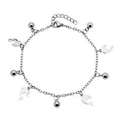 Delfin Armband für Damen aus Edelstahl