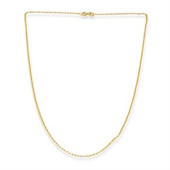 585er Goldkette: Ankerkette Gold 50cm BIN1009
