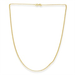 585er Goldkette: Ankerkette Gold 45cm BIN1011