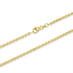 585er Goldkette: Ankerkette Gold 50cm