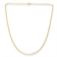 585er Goldkette: Ankerkette Gold 50cm BIN1043