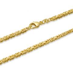 585er Goldarmband: Königsarmband Gold 18,7cm
