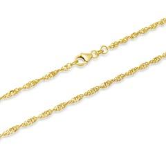 333er Goldarmband: Singapurarmband Gold 18,5cm