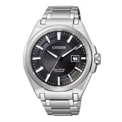 Citizen Herrenuhr Super Titanium silber BM6930-57E