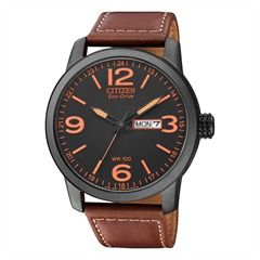 Citizen Sports Herrenuhr Leder braun BM8476-07EE