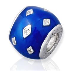 Hochwertiger 925 Silber Bead gewindelos