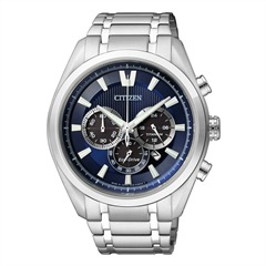 Citizen Super Titanium Chrono silber CA4010-58L