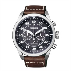 Citizen Sports Chronograph Herren Leder CA4210-16E