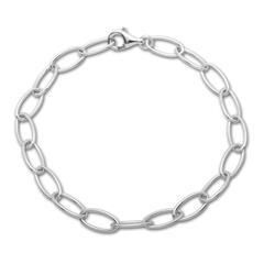 925 Silberarmband für Charms 19cm