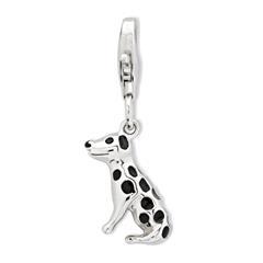 925 Silber Hund Charm zum Sammeln & Kombinieren