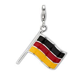 925 Silber Charm Flagge zum Sammeln