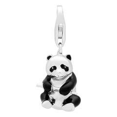 925 Silbercharm Samurai Panda