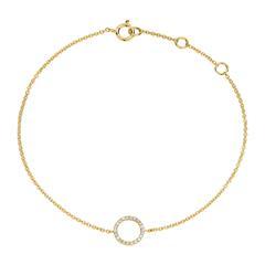 Armband Kreis Damen 14k Must-Have Idee 192