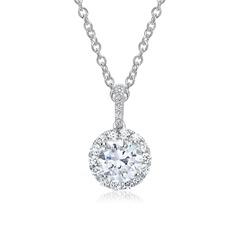 Diamant-Ankerkette 750er Weißgold