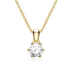 Kette Damen 585er Gold Diamant