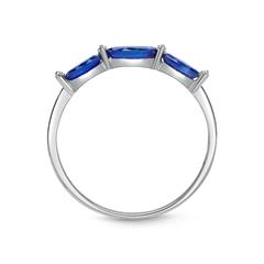 Filigraner Ring Saphire Diamanten 0,64 ct gesamt DR0040