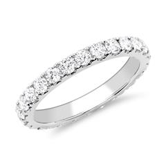 950er Platin Eternity Ring 26 Brillanten