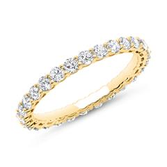 Eternity Ring 750er Gold 28 Diamanten