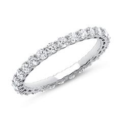 Eternity Ring 950er Platin 28 Diamanten