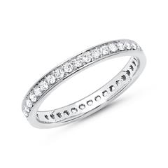 Eternity Ring 950er Platin 39 Diamanten