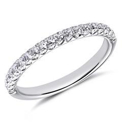 Ring 750er Weißgold 19 Diamanten