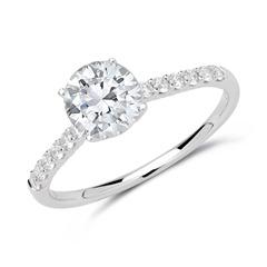 Diamant Ring 585er Weißgold
