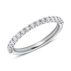 Eternity Ring 950er Platin 16 Diamanten