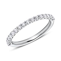 Eternity Ring 750er Weißgold 16 Diamanten