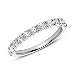 Half Eternity Ring 950er Platin Diamant
