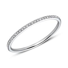 Memoire Ring 950er Platin Diamanten