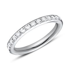 Ring Eternity 950er Platin 16 Diamanten