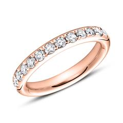 Eternity Ring 585er Roségold 13 Brillanten
