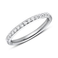 950er Platin Ring Eternity 37 Diamanten