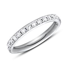 Eternity Ring 950er Platin 30 Brillanten
