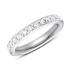 950er Platin Eternity Ring 27 Diamanten