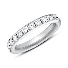Eternity Ring 950er Platin 25 Diamanten