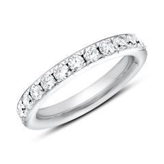 Eternity Ring 585er Weißgold 25 Diamanten