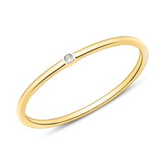 14K Gold Ring For Ladies With Diamond