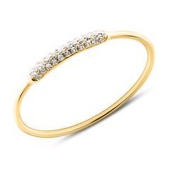 Ring für Damen 585er Gold mit Brillanten