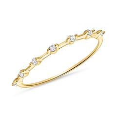 Ring für Damen aus 585er Gold mit Weißtopasen