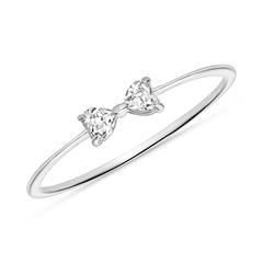 Topaz Ring For Women In 14K White Gold