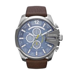 Chronograph Herren Diesel Chief Edition Leder DZ4281