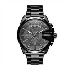 Herrenchronograph Diesel Chief black Steel DZ4355