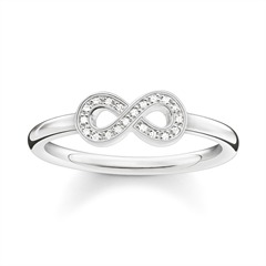 Ring Infinity Diamanten