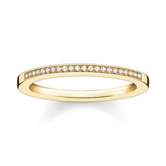 Ring 925er Silber vergoldet